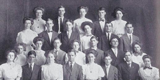 1909 Cactus.Freshmen.1.