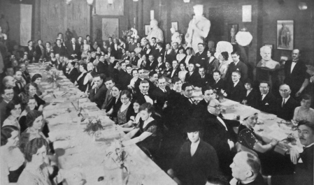 Coppini Dinner.March 2 1932