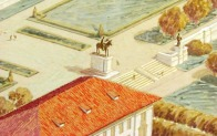 Paul Cret Master Plan.George Washington Statue