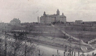 1899 Cactus.Campus from 21st and Guadalupe