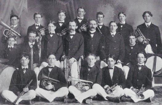 1901 Cactus.Varsity Band