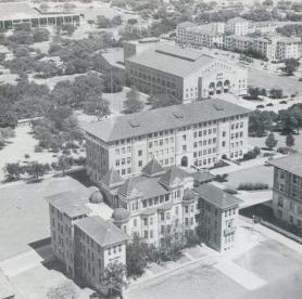 B. Hall from Main Building.1945