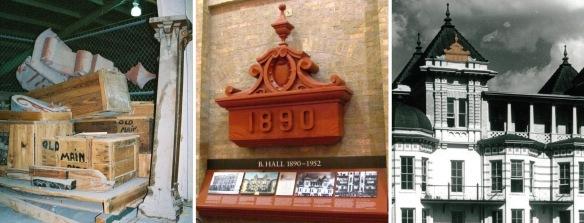 B Hall Pediment.