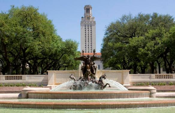 Main Building and Littlefield Fountain