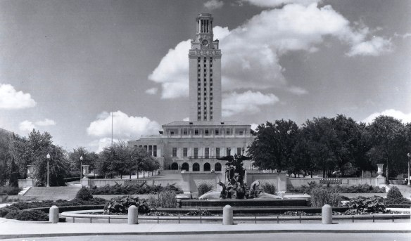 Main Building.Littlefield Fountain.1938