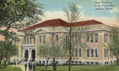 Old Law Building 1910