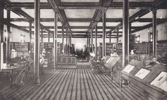 Old Main Library.1902.