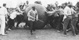 Pushball.March 2 1925