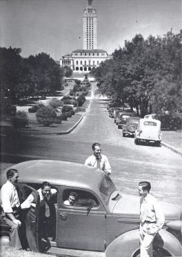 University Avenue View.1938