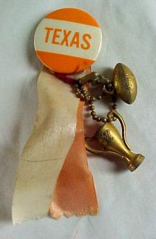 UT Football Pin 1950s