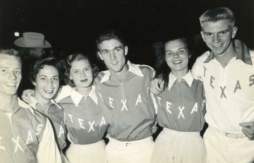 1955.UT Cheerleaders