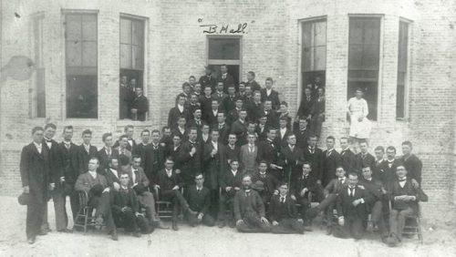 B. Hall.1890s