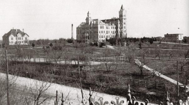 UT Campus.Mid 1890s.