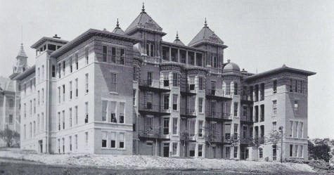 1900. B Hall from Speedway