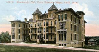 B Hall Color Postcard