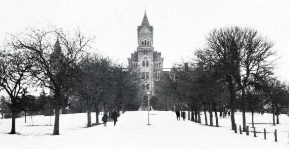 Snow.Old Main.