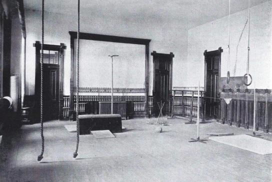 1900.Girls Gym in Old Main Library
