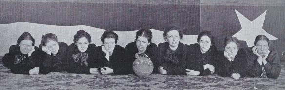 1901 Whitis Basketball Team