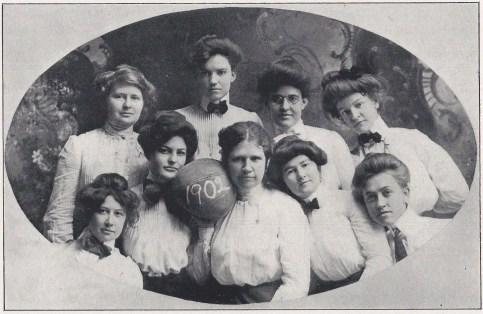 1902 Cactus.Womens Basketball Team