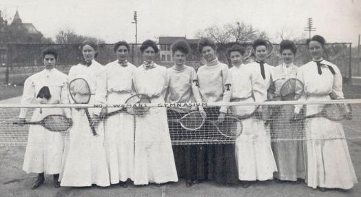1906 Womens Tennis.