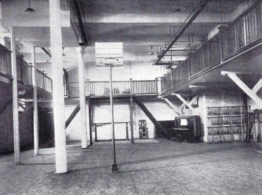 Womans Building Gymnasium