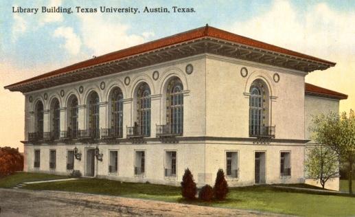 UT Library.Battle Hall