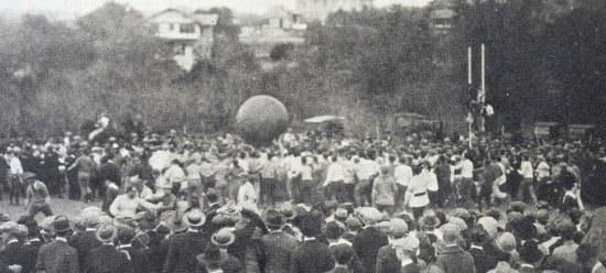 1923-pushball