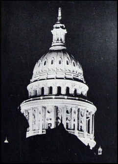 10.1926 floodlighting of Texas Capitol dome