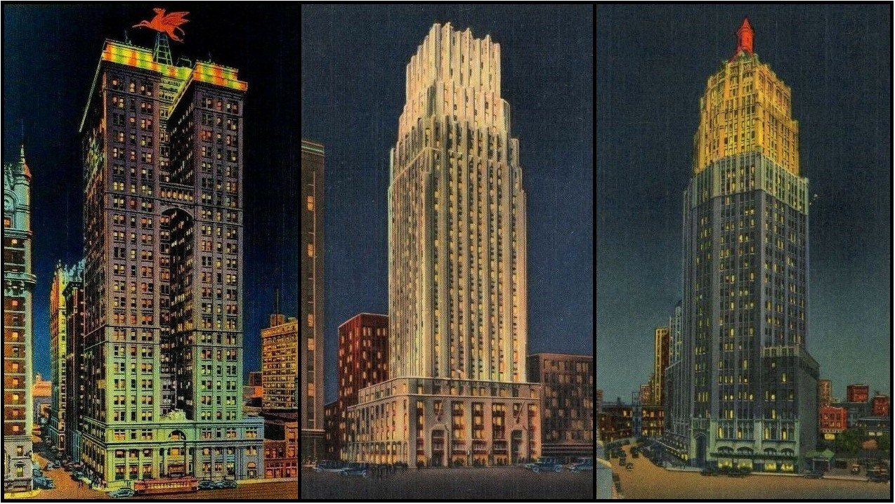 14.Dallas.Houston.San Antonio.1920s Skyscrapers.