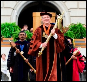 16.Spring Commencement Maces.