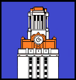 34.Tower.Alternate white and orange base to top.