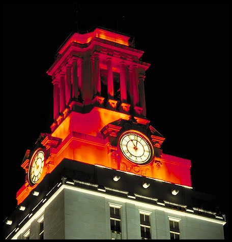 44.UT Tower.Top Orange