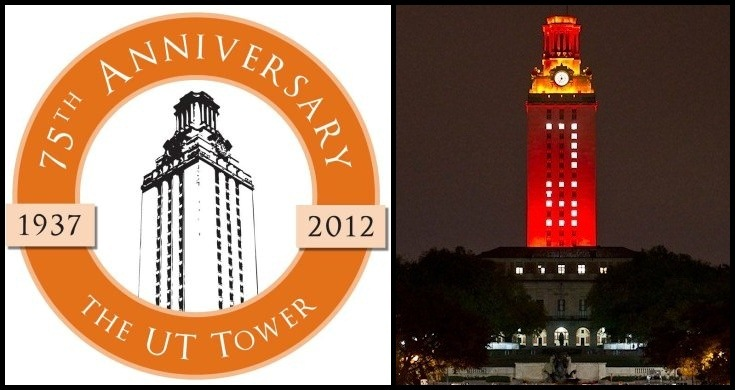 49.UT Tower 75th Annivesary.Logo and Tower.